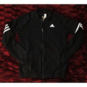 ⚽️Adidas Front Full Zip Jacket - M